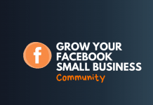 grow your facebook small business community