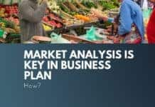 market analysis is key in business plan