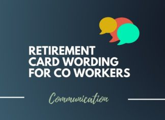 Best Retirement Card for a Coworker Wording Ideas
