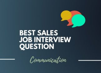 Sales Job interview questions