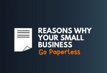 how small business go paperless