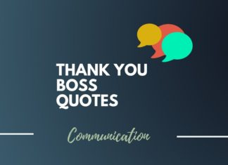 Thank You Boss Quotes