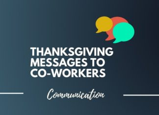 thanksgiving messages for co-workers