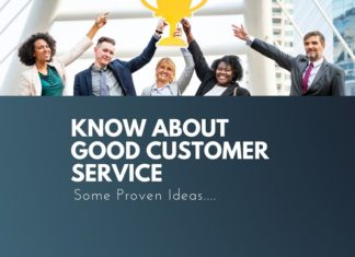 things know about good customer service