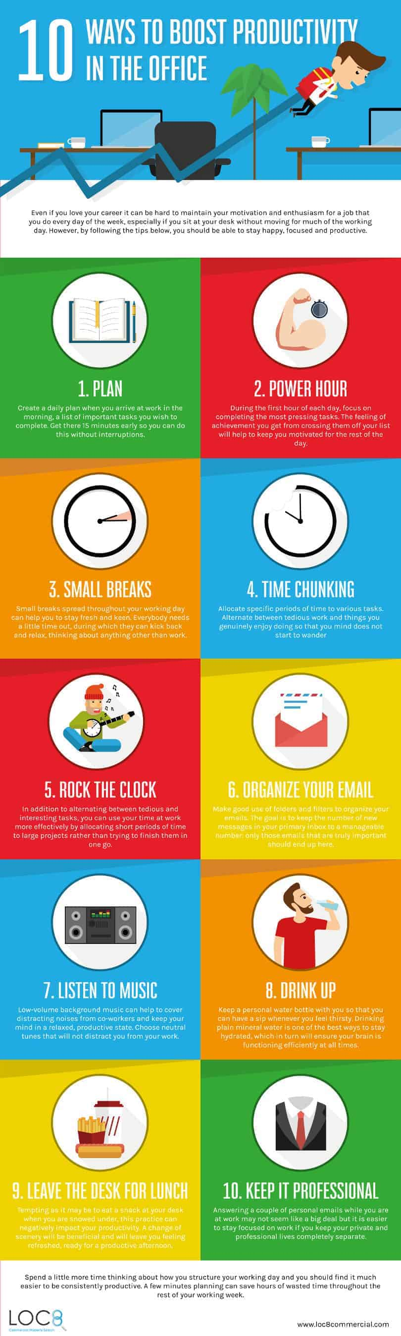 tips to boost office productivity