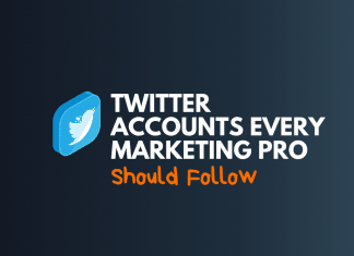 twitter account for marketing pro follow