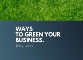 ways to green your business
