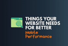 website needs better mobile performance
