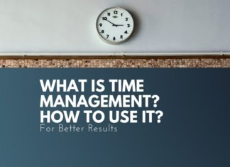 time management and how ti use it
