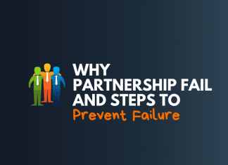 why business partnership fails