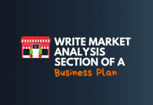 write market analysis section