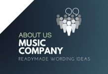 Music Company About us
