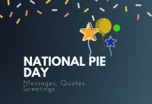 National Pie Day Messages