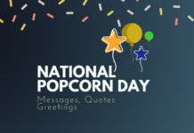 Popcorn Day Messages
