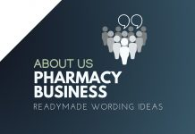 Pharmacy Business About us
