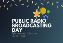 adio Broadcasting day Messages