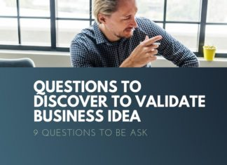 question discover to validate business idea