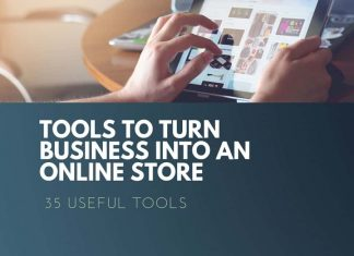 tools to turn business in to online store