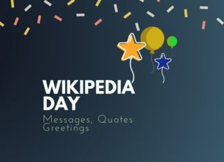Wikipedia Day Best Messages