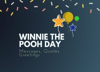 Winnie the Pooh day Messages