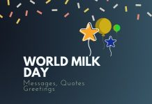 Milk day Messages