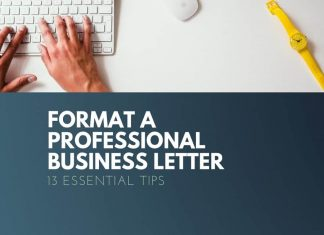 write professional Business Letter Tips