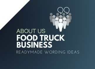 Food Truck Business About us