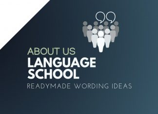 Language School Business About us
