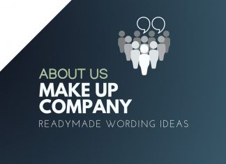 Make Up Company About us
