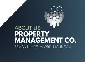 Property Manager Business About us