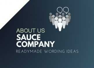 Sauce Business About us
