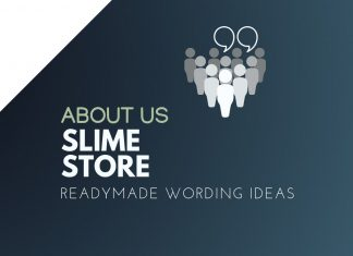 Slime Store about us