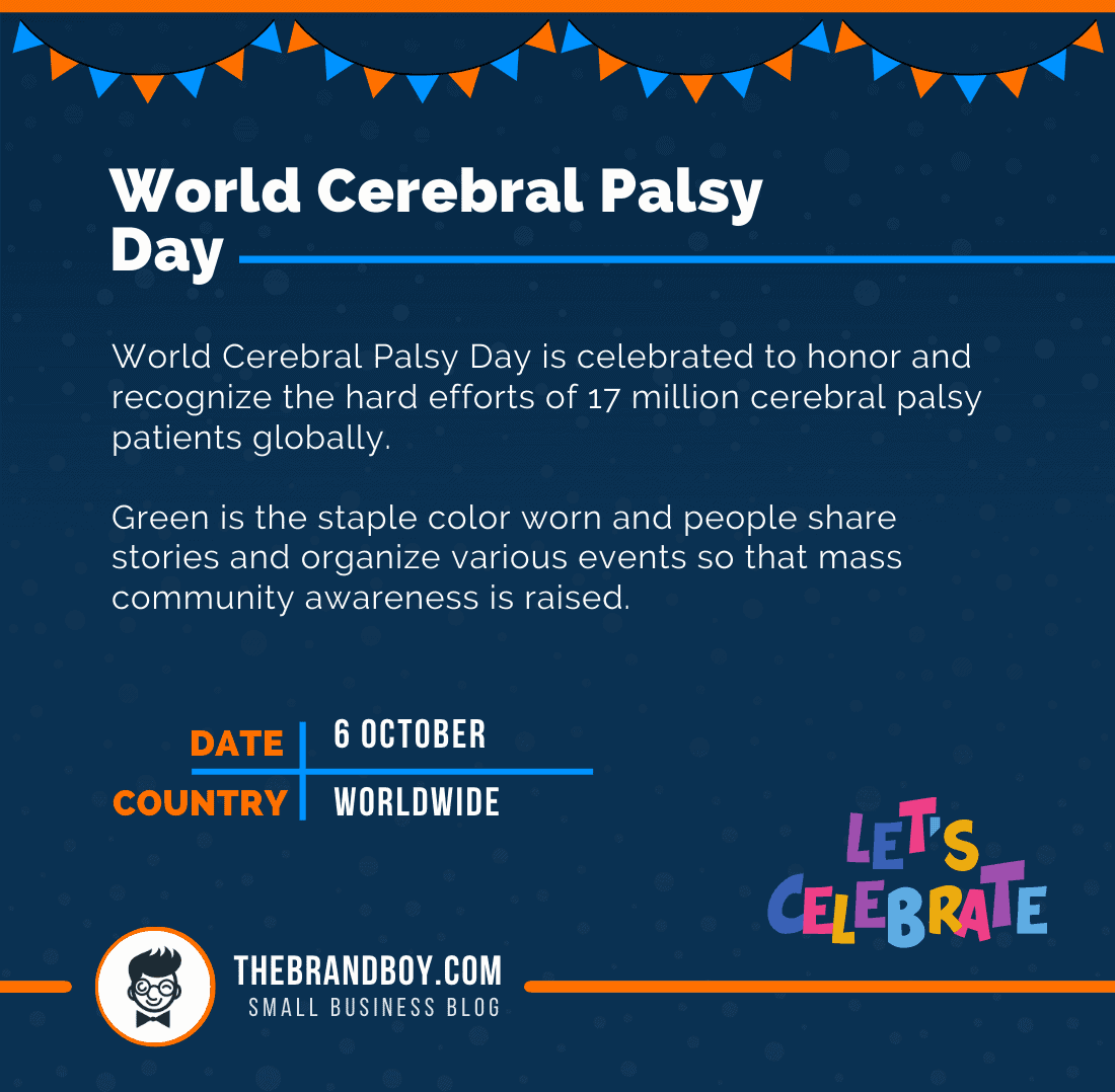 about world cerebral palsy day