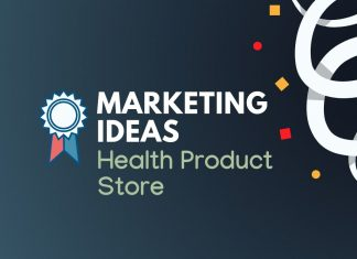 Health Product store marketing
