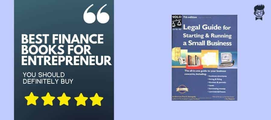 best finance books for entrepreneur