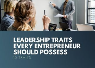 leadership traits of entrepreneur