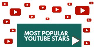 most popular youtube stars