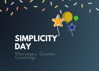 Simplicity Day Messages