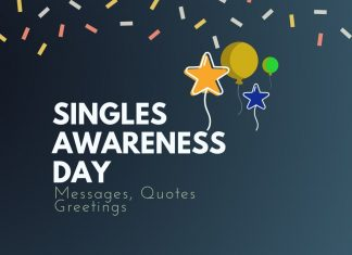 Singles Awareness Day Messages