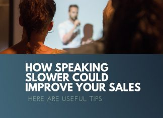 speaking slower improve sales