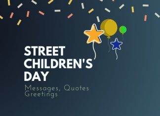 Street Childrens Day Messages