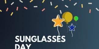 SUNGLASSES DAY Messages