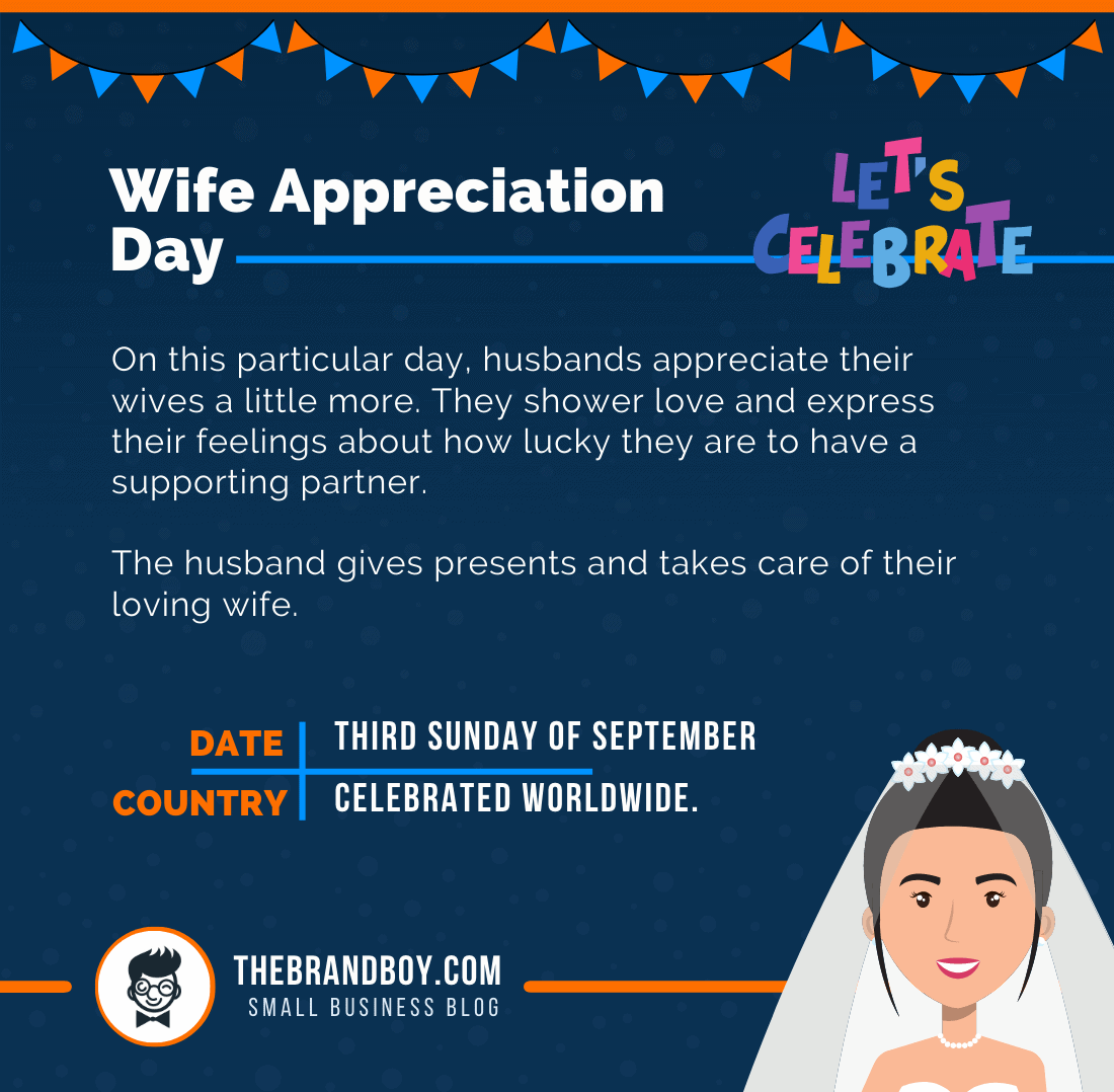 about wife appreciation day