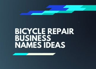 bicycle repair business names