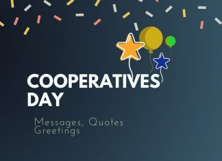 Day of Cooperatives Messages