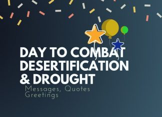 Combat Desertification and Drought Messages