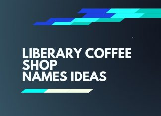 library coffee store names