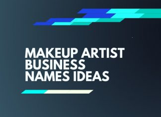 makeup artist business names