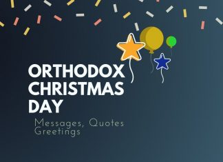 Orthodox Christmas Day Messages