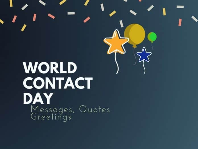 World Contact Day Messages